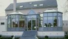 Veranda ijssalon Sint-Truiden woning aluminium ramen deuren corswarem group alu design tongeren schueco (5)