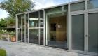 Tuinkamer Kiewit Fons Vanhoudt woning aluminium ramen deuren corswarem group alu design tongeren schueco(11)