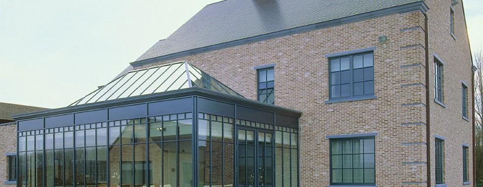 veranda aluminium schuco