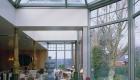 Veranda ijssalon Sint-Truiden woning aluminium ramen deuren corswarem group alu design tongeren schueco (8)