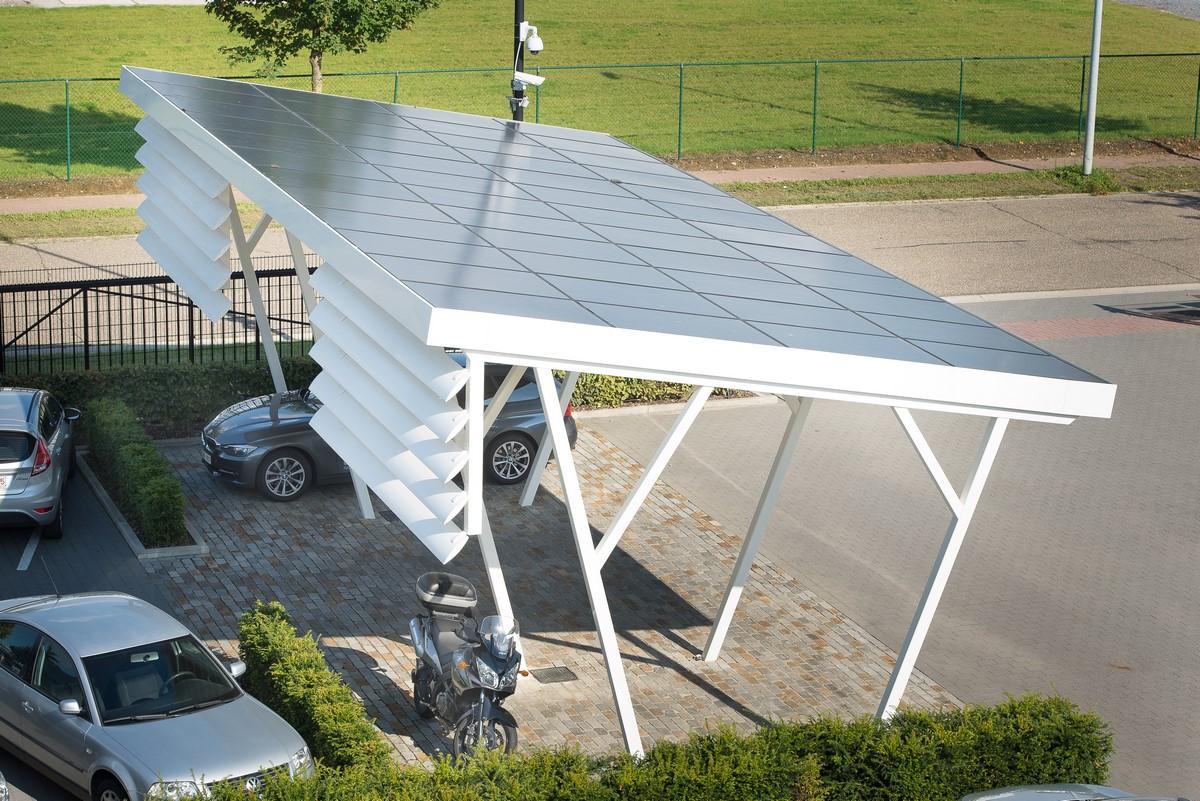 zonnepanelen carport Corswarem Group Tongeren | Corswarem Group Tongeren